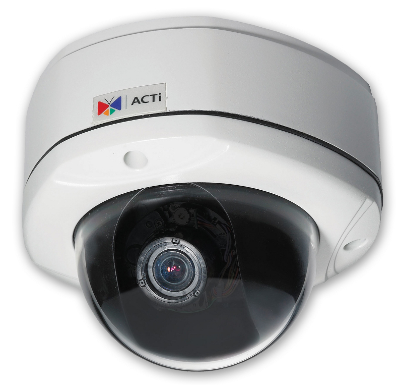 IP Cameras : ACTi IP Cam KCM-7111 Outdoor Dome 4MP